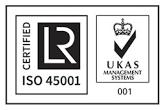 Certificado de calidad ISO 45001:2018