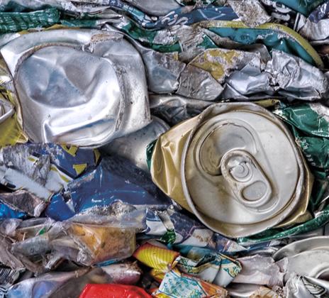 Planta de reciclado de aluminio